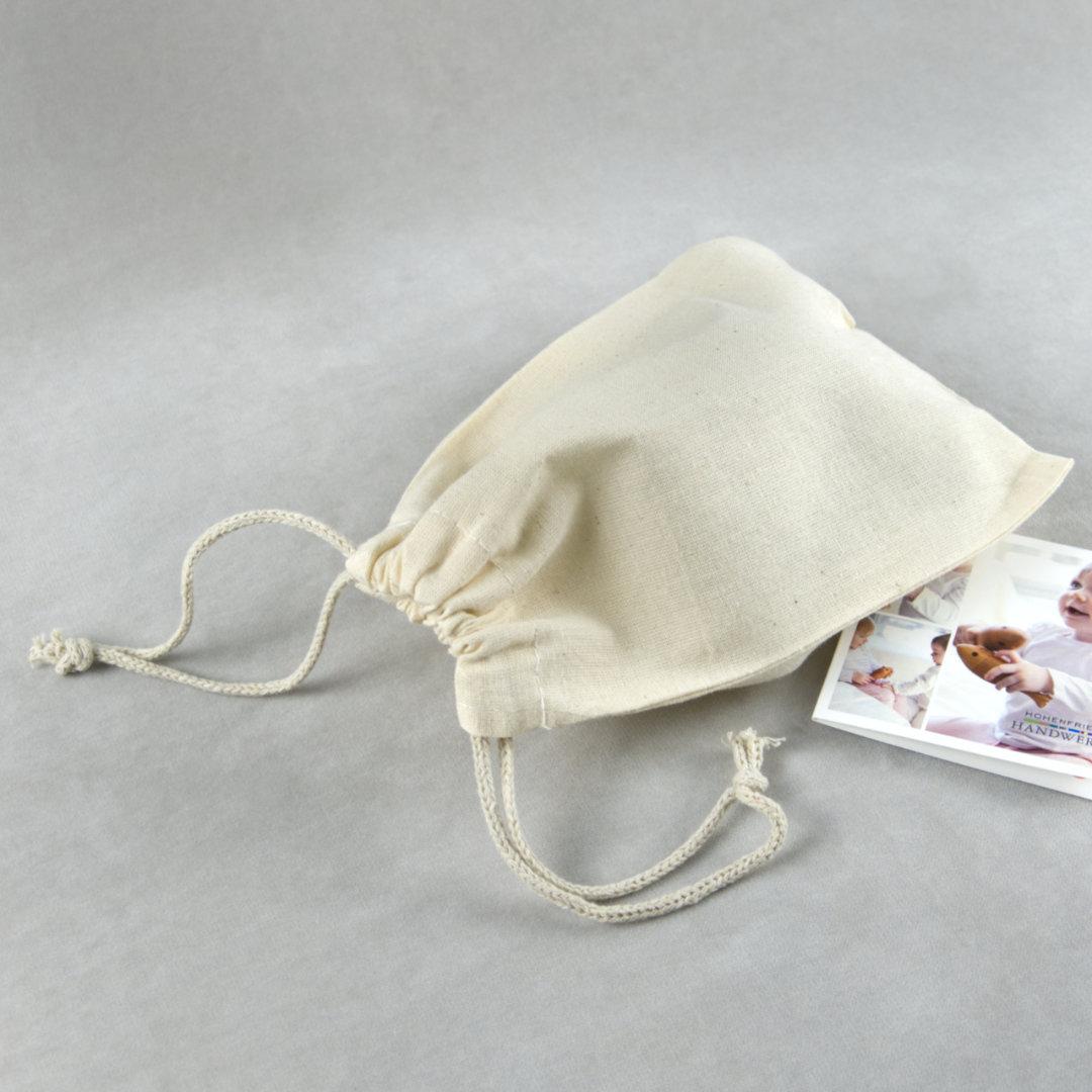 Ökologisches Baumwollsäckchen zur Aufbewahrung