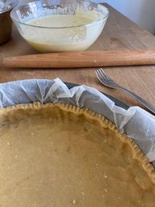 Kuchenboden in Kuchenform